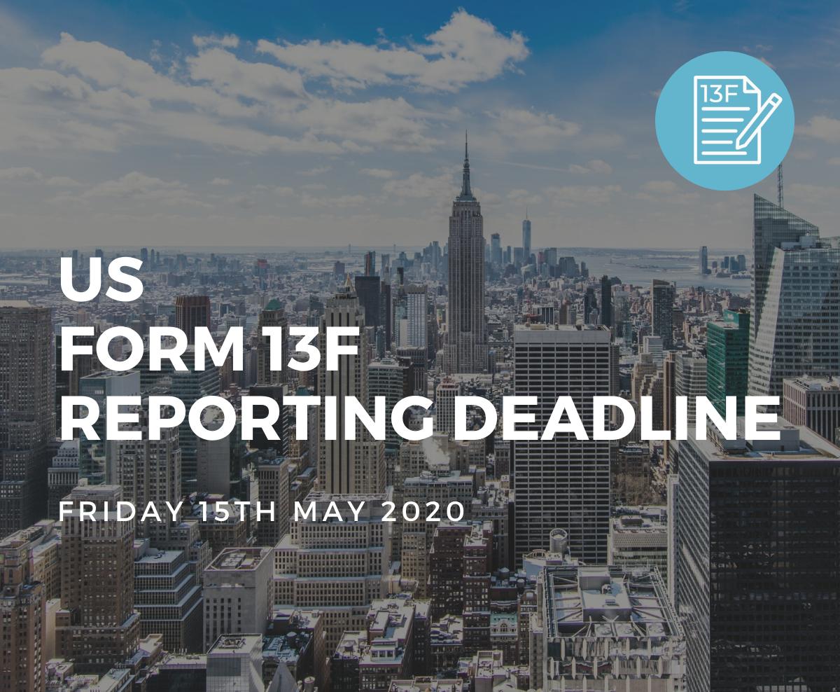 US Form 13F Reporting Deadline (1)