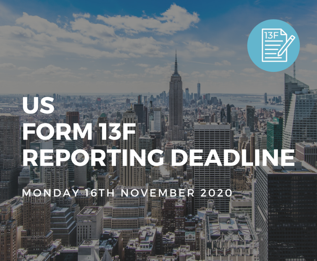 US Form 13F Reporting Deadline