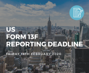 US Form 13F Reporting Deadline