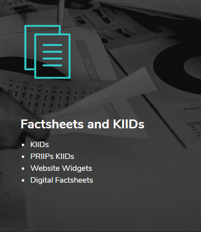 Factsheets and KIIDs Solutions by Funds-Axis